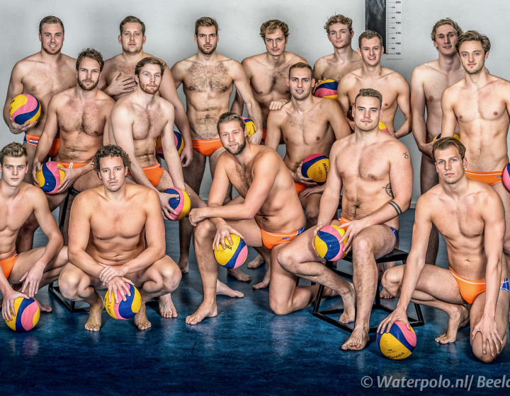 Nederlandse waterpolomannen 'hot' in Taiwan