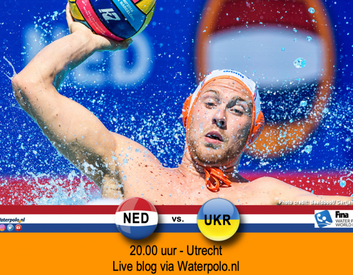 World League mannen Nederland - Oekraïne