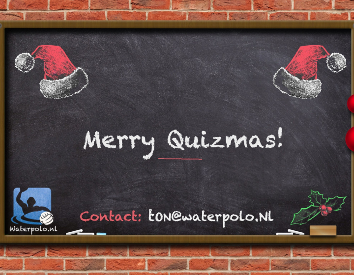 Merry Quizmas, de waterpolo.nl pubquiz