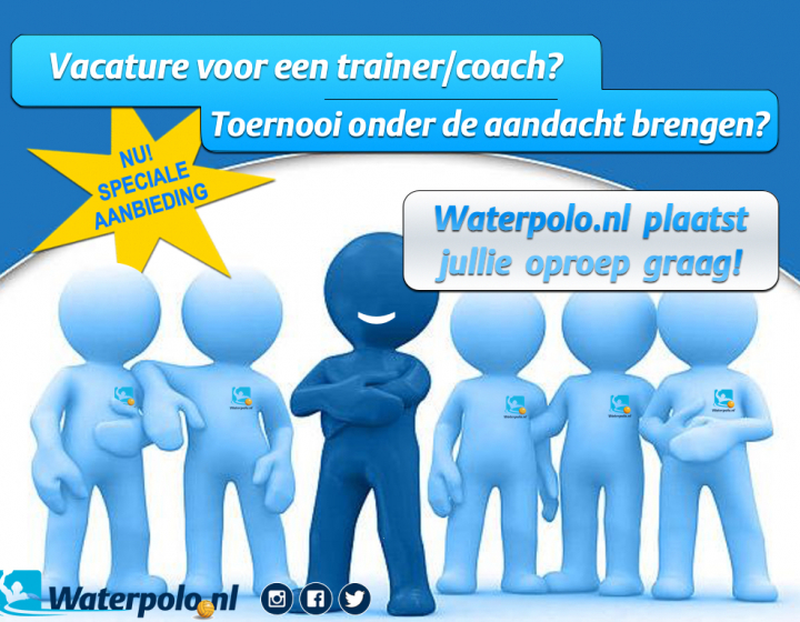 Vacature Waterpolo.nl